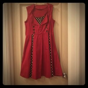 Dresses & Skirts - Rockabilly pin up dress